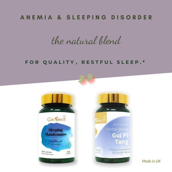 Anemia and Sleeping Disorder Kit