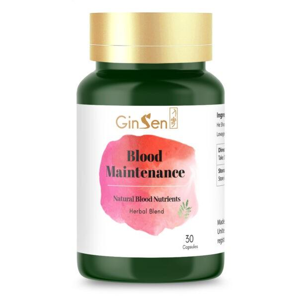 Blood Maintenance by GinSen Blood Builder Tablets