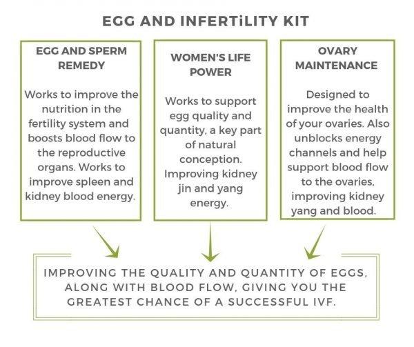 Egg and infertility Kit