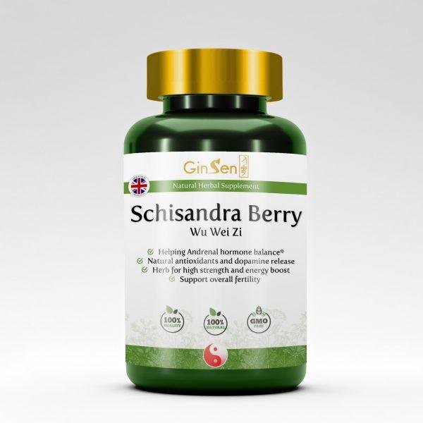 Schisandra Berry Supplement Wu Wei Zi by GinSen