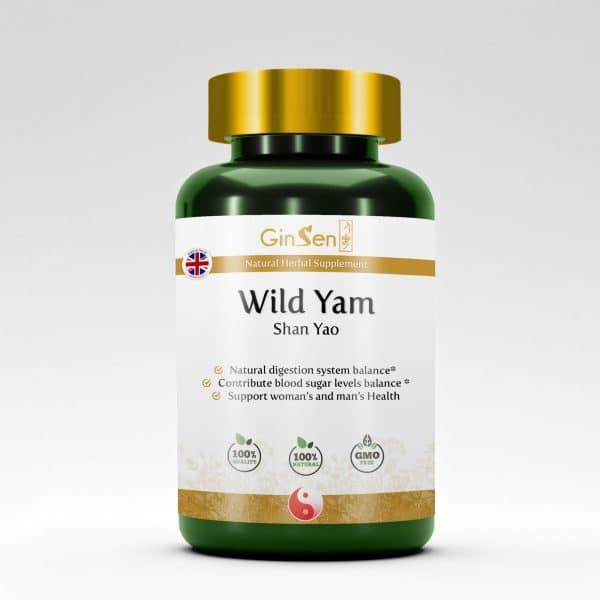 Wild Yam Supplement