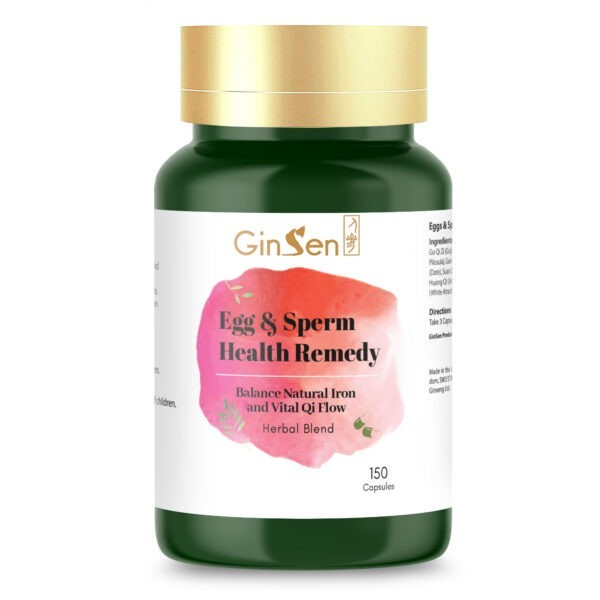 Eggs and Sperm Health Remedy by GinSen
