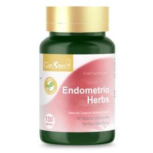 Endometrio Herbs by GinSen Herbal Supplements for Endometriosis