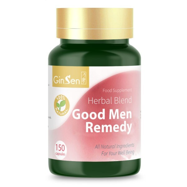Good Men Remedy by GinSen Supplements for Male Fertility