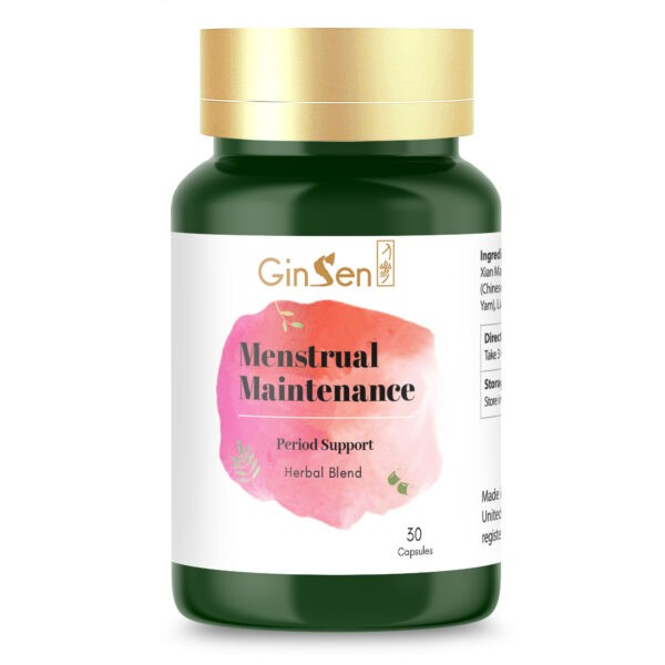 Menstrual Maintenance by GinSen Supplements for Period