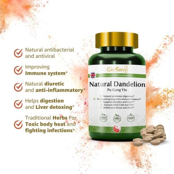 Natural Dandelion Tablets