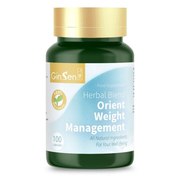 Orient Weight Management by GinSen Appetite Suppressant Pills