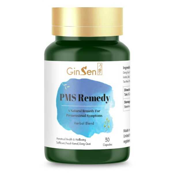 PMS Remedy by GinSen PMS Relief Tablets