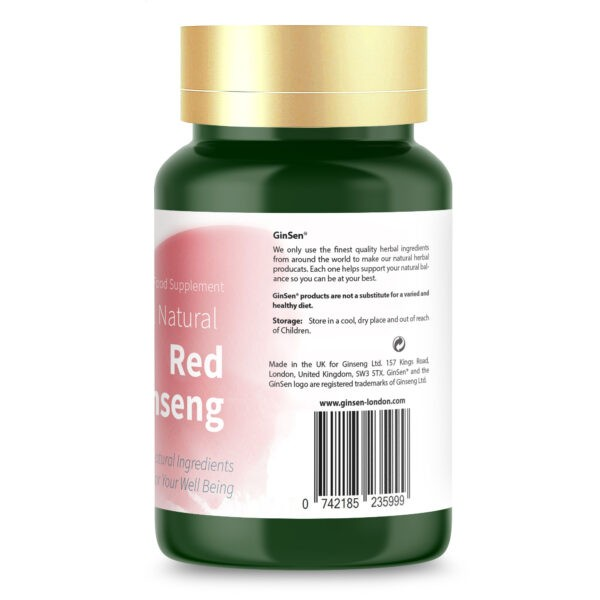 red ginseng supplements