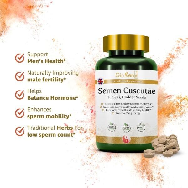 Semen Cuscutae Male fertility capsules