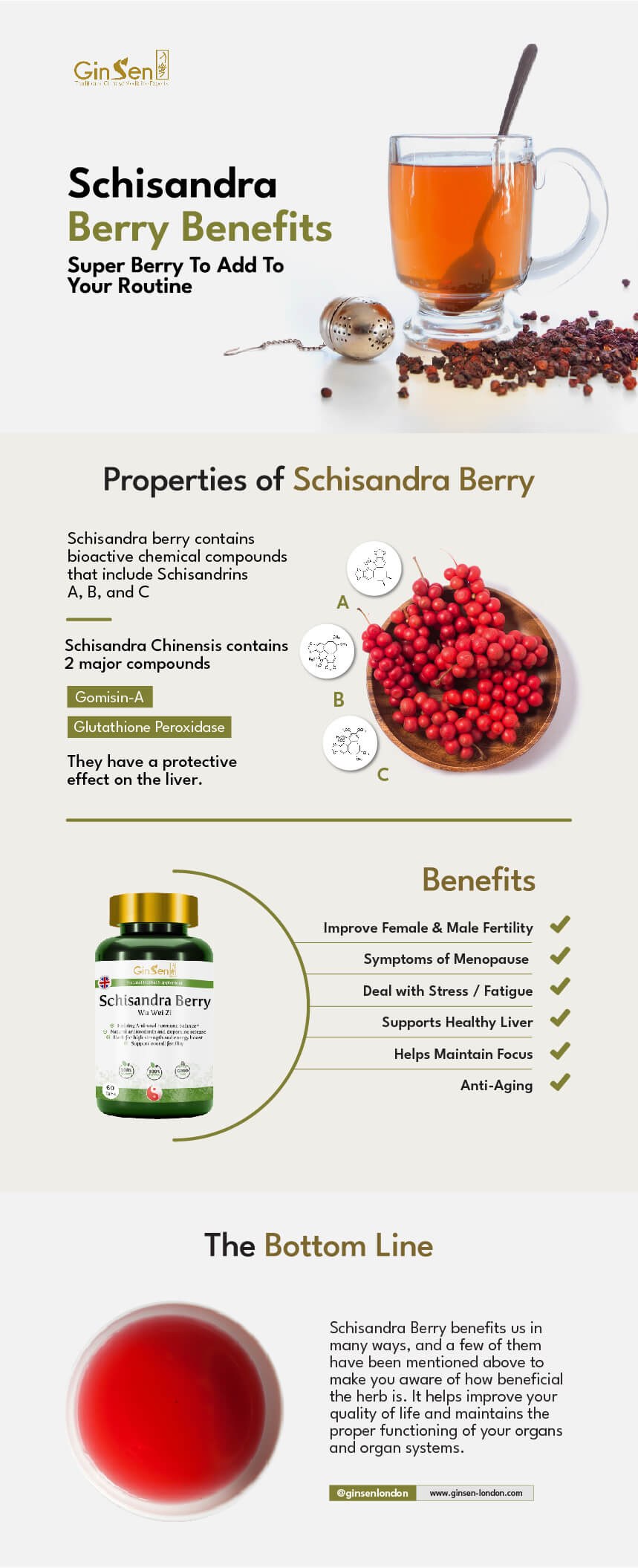 Schisandra Berry Benefits