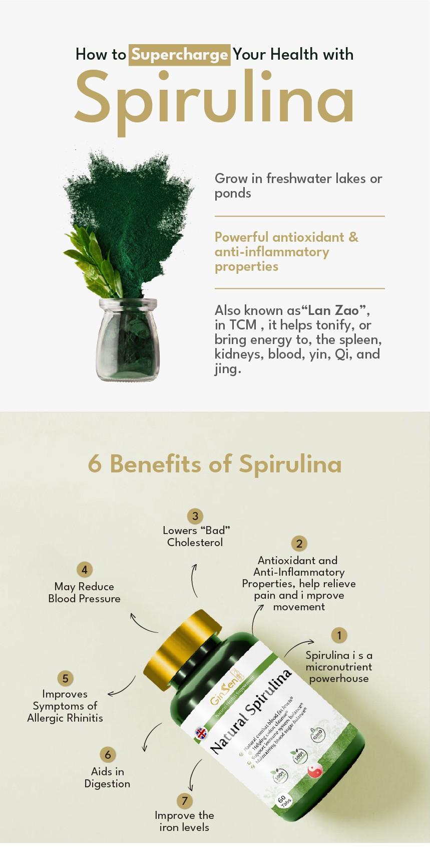 benefits of Spirulina